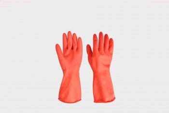 Rubber glove-household