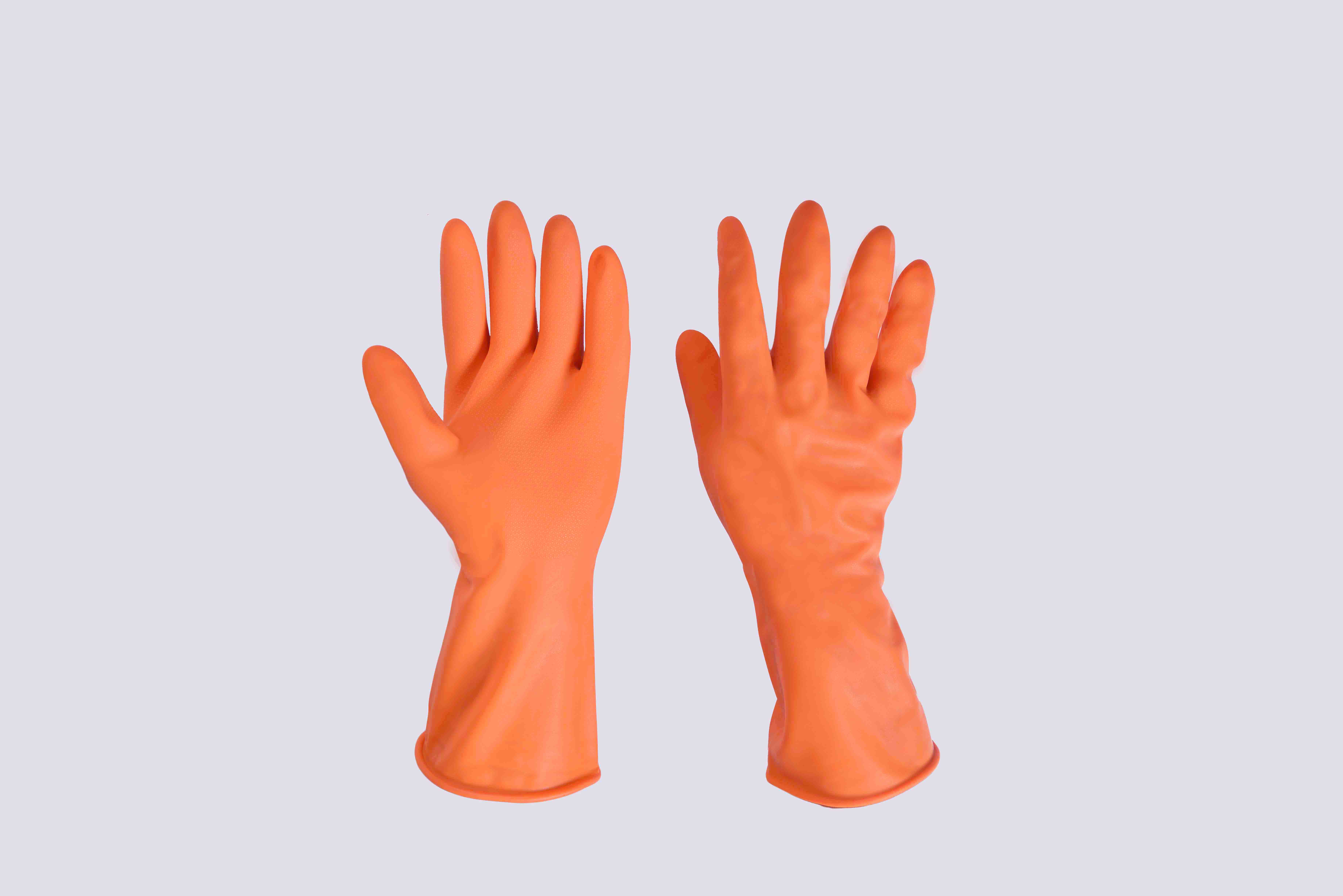 Good Quality Rubber glove household L Lahore Factory