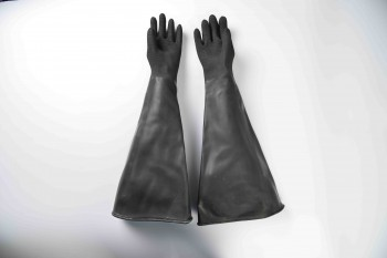 26″ Industrial rubber glove-rough finish